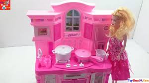 Bộ đồ chơi nấu ăn của búp bê barbie, kitchen toys of barbie dolls, trò c...  | Nấu ăn, Bếp, Đồ chơi