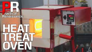 electric oven for heat treating steel