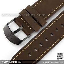 20mm brown genuine leather replacement