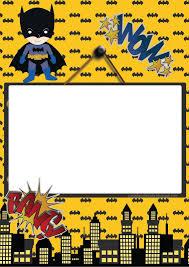 Kit Festa Batman Para Imprimir Gratis Festa Batman Convite