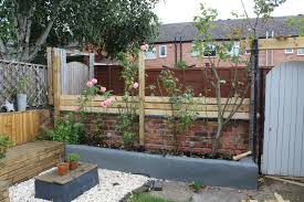 Garden Renovation Pallet Fencing And Raised Beds Kezzabeth Diy Renovation Blog