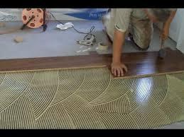 install prefinished hardwood floor