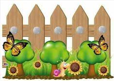 Flower Fence Clipart Clipart Station
