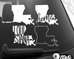 Louisiana Decal Etsy