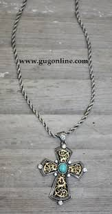hy o inspired cross necklace