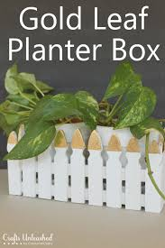 Fence Planter Box Diy Crafts Unleashed
