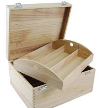 6 bottle hinged lid wooden box davy
