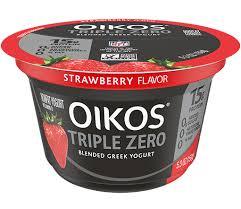 dannon oikos triple zero greek yogurt