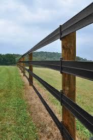Hottop Plus Fence Rail 4 Black 660 Ft