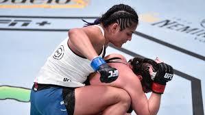 Cynthia Calvillo defeats No. 1 contender Eye at UFC Fight Night - TSN.ca