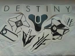 Destiny Themed Vinyl Stickers Decals Destiny Symbol Ghost Symbols Of The Houses Exile Winter Wolves Judgement Devils Vinyl Sticker Vinyl Decals Vinyl