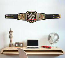 Wwe Wall Decals In Decor Decals Stickers Vinyl Art For Sale In Stock Ebay