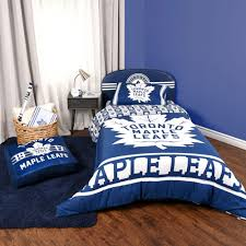 nhl twin bedding set toronto maple