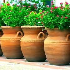 garden plant pots large flower planters