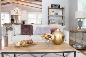 styling a coffee table fall edition