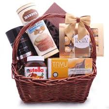 chocolate gift basket sweet