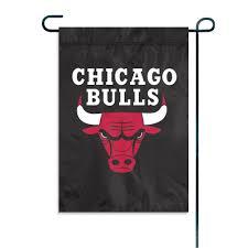 Chicago Bulls Garden Window Flag
