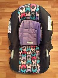 trend baby car seat black replacement