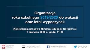 Organizacja roku szkolnego 2019/2020 do... - Ministerstwo Edukacji ...