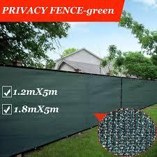 Green Privacy Screen Fence Heavy Duty Fencing Mesh Shade Net Cover Balcony Privacy Shield For Garden Yard Backyard Fencing Trellis Gates Aliexpress