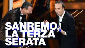 Sanremo 70, la terza serata e le reazioni social - Timeline - YouTube