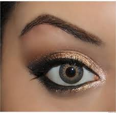 how to do cute makeup for hazel eyes