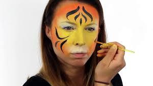 snazaroo easy tiger face paint tutorial