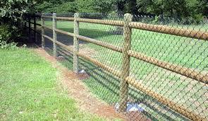 Dowel Round Rail Fence Pro Built Fence Edmond Oklahoma City Fencing We Install Fences In Okc Ok