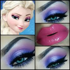 how to do your makeup like elsa