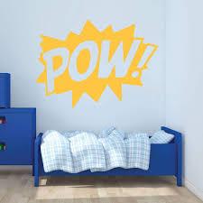 Pow Wall Decal Super Vinyl Decor Wall Decal Customvinyldecor Com