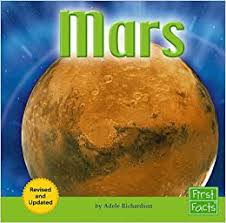 Mars: Revised Edition (The Solar System): Richardson, Adele: 9781429607230:  Amazon.com: Books