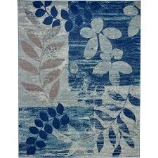 navy blue modern large area rug