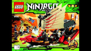 LEGO Ninjago Destiny's Bounty 9446 Instructions Book DIY 1 - YouTube