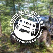 Yours May Go Fast Nissan Xterra N50 Vinyl Decal Pathmaker Productions