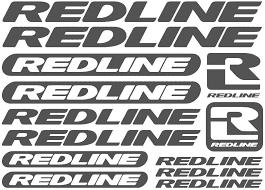 Amazon Com 1 Set Redline Vinyl Sheet Bike Frame Cycling Bicycle Decal Motor Cartoon Stickers Car Styling Decorative Car Body Stickers Gray Style 1 Automotive