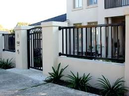 Modern Fence Design Modern Fence And Gate Design Modern House Fence Design Philippines House Gate Design House Fence Design Compound Wall Design