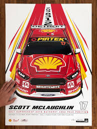 Scott McLaughlin 2017 Bathurst 1000 ...
