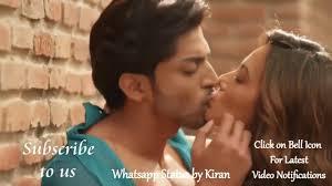 hot romantic kiss love status video
