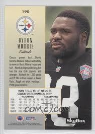 1994 Skybox Premium - [Base] #190 - Byron Morris