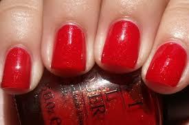 opi red dazzle nail lacquer rare hard