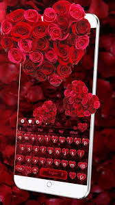 Red Love Rose Keyboard For Android Apk Download