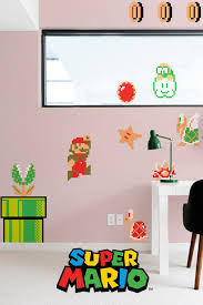 Super Mario Bros X30 Giant Wall Stickers By Nintendo Giant Wall Stickers Wall Decals
