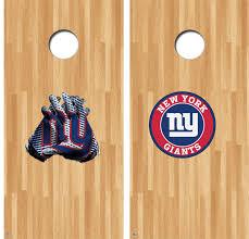 New York Giants Cornhole Decals Nfl Cornhole Decals Buy 2 Get 1 Free Gamedaydecals
