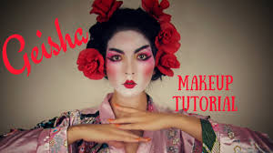 geisha makeup tutorial for