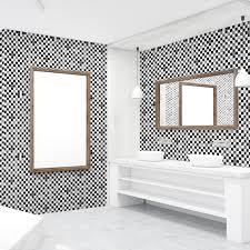 Ebern Designs Marble Mosaic Tile Wall Decal Wayfair