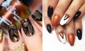 41 trendy fall nail design ideas for