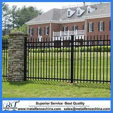 New Desigh Cheap Wrought Iron Fence Panels For Sale Fence Panels Square Tube