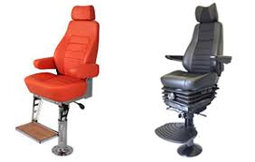 marine seating suspension seating for