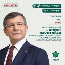 Gelecek Partisi - 📢 Genel Başkanımız Sayın Ahmet...
