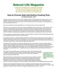 How to Choose Safe and Healthy Cooking Pots - Ceramcor Cookware